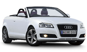 Rent a Car in Crete AUDI A3 CABRIO
