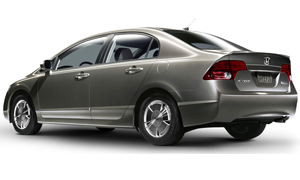 Rent a Car in Crete HONDA CIVIC HYBRID