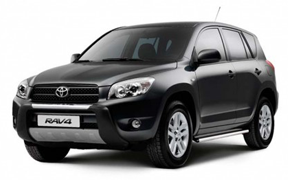 Rent a Car in Crete TOYOTA RAV
